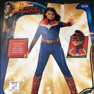Captain Marvel Costume🎃 NEW